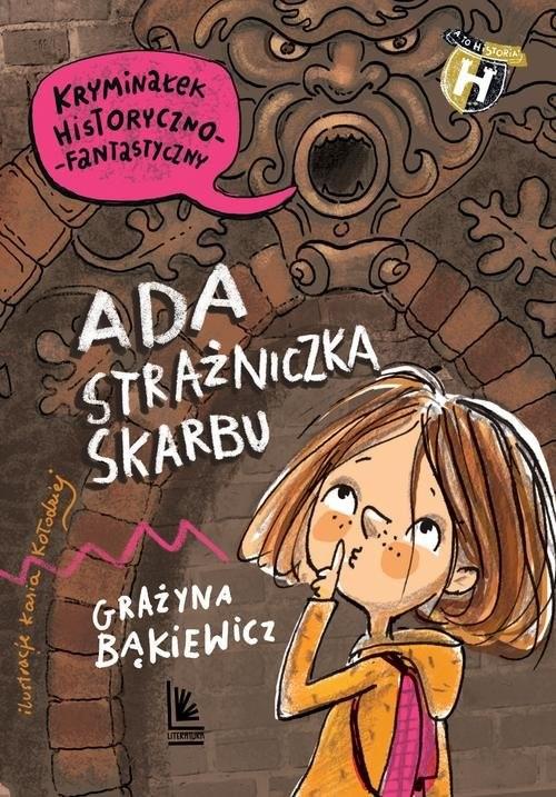 okładka Ada strażniczka skarbu, Książka | Bąkiewicz Grażyna