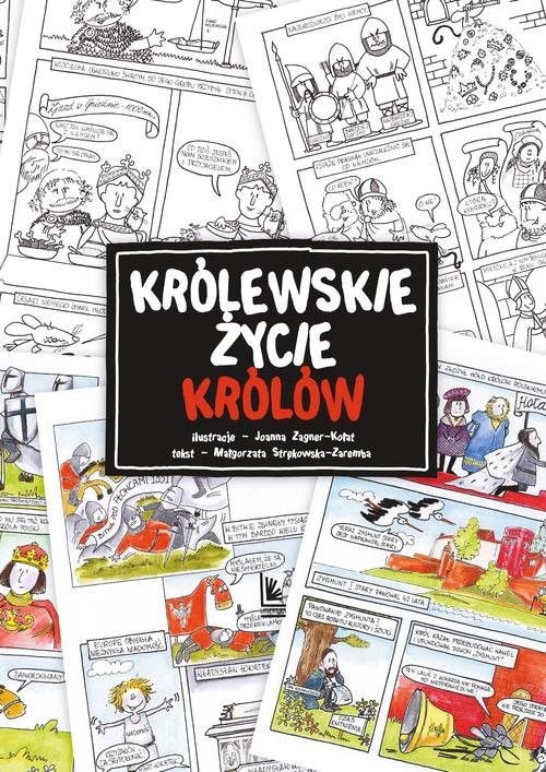 okładka Królewskie życie królów, Książka | Strękowska-Zaremba Małgorzata