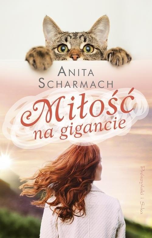 okładka Miłość na gigancie, Książka | Scharmach Anita