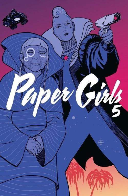 okładka Paper Girls 5, Książka | Brian K. Vaughan