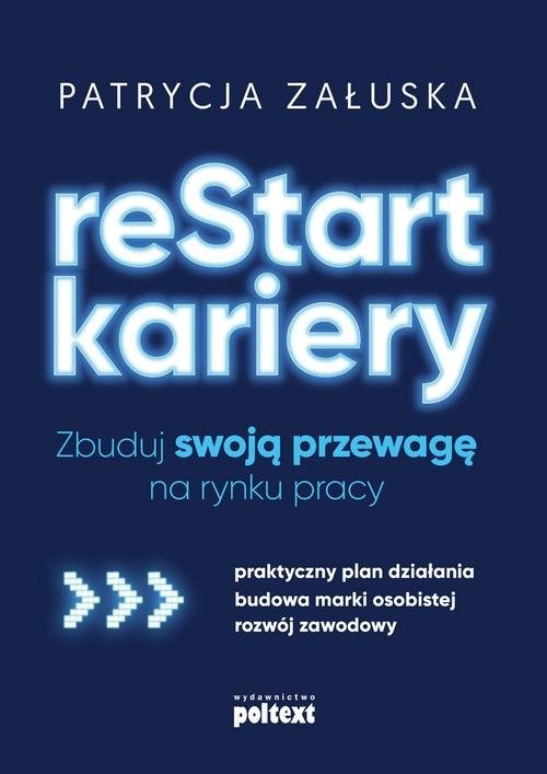 okładka reStart kariery Zbuduj swoją przewagę na rynku pracy, Książka | Załuska Patrycja