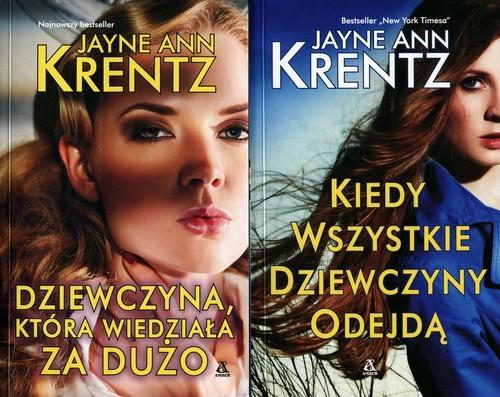 okładka Dziewczyna, która wiedziała za dużo / Kiedy wszystkie dziewczyny odejdą Pakiet, Książka | Jayne Ann Krentz