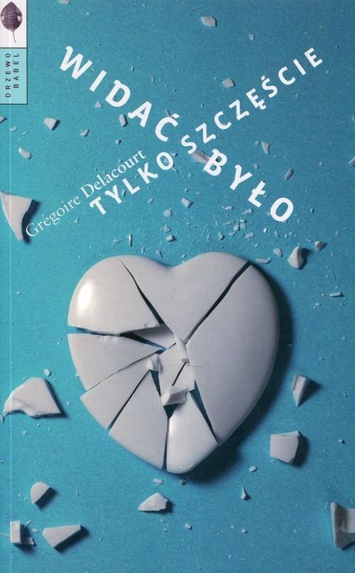 okładka Widać było tylko szczęście, Książka | Grégoire Delacourt