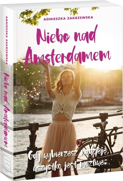 okładka Niebo nad Amsterdamem, Książka | Zakrzewska Agnieszka