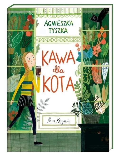 okładka Kawa dla kota, Książka | Tyszka Agnieszka