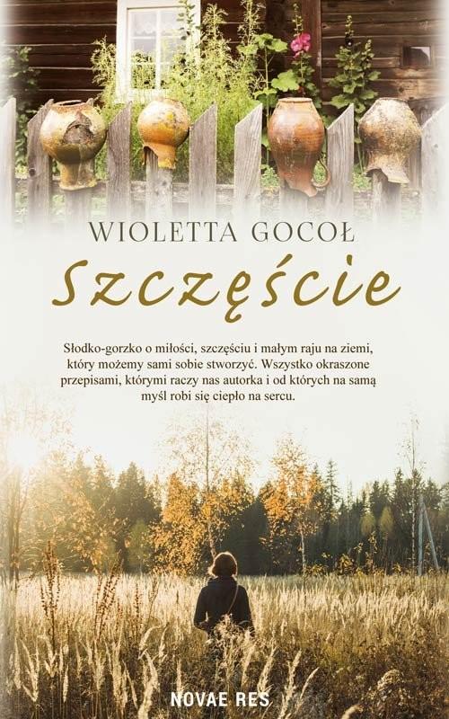 okładka Szczęście, Książka | Gocoł Wioletta