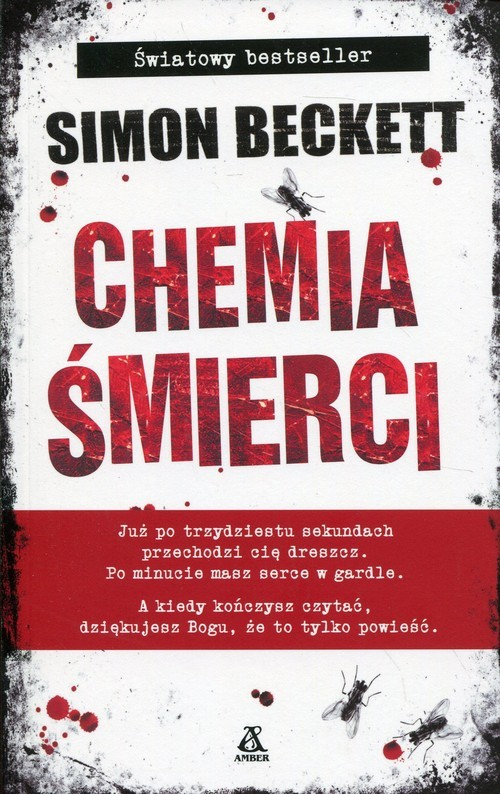 okładka Chemia śmierciksiążka      Beckett Simon