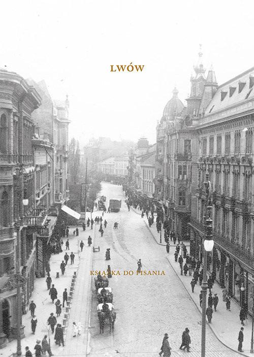 okładka Lwów Książka do pisania, Książka | Iwona Boruszkowska, Urszula Pieczek, Potapenk