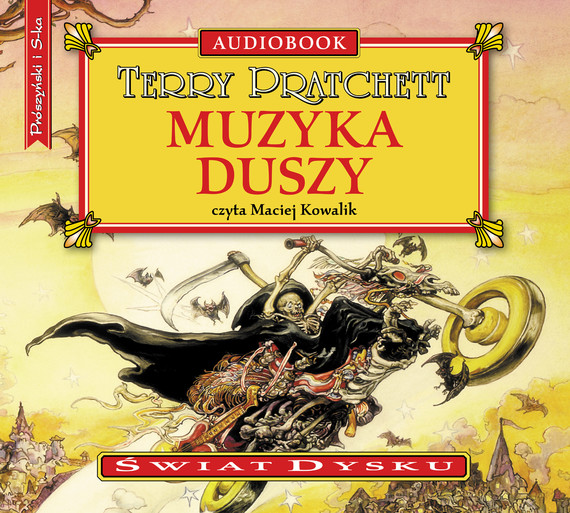 okładka Muzyka duszy, Audiobook | Terry Pratchett