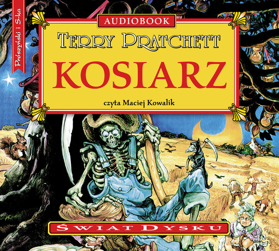 okładka Kosiarzaudiobook | MP3 | Terry Pratchett