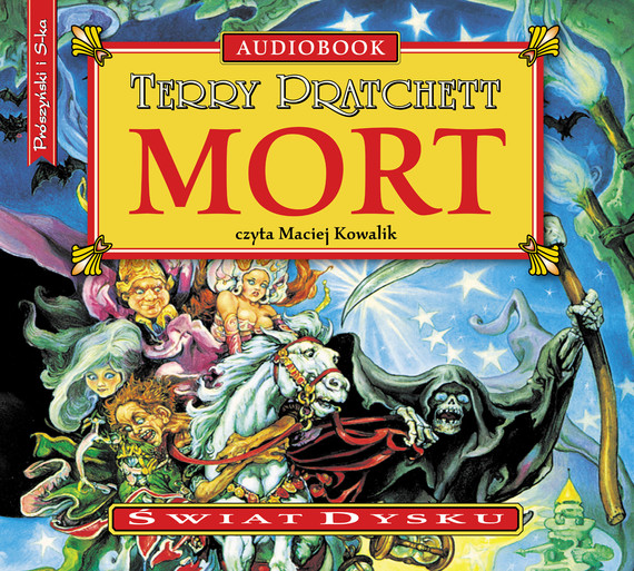 okładka Mortaudiobook | MP3 | Terry Pratchett