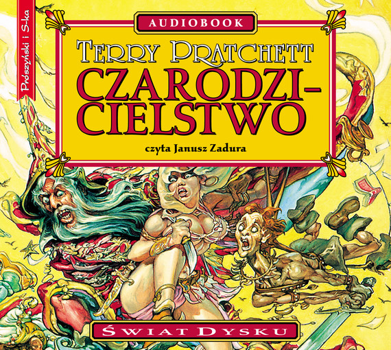 okładka Czarodzicielstwoaudiobook | MP3 | Terry Pratchett