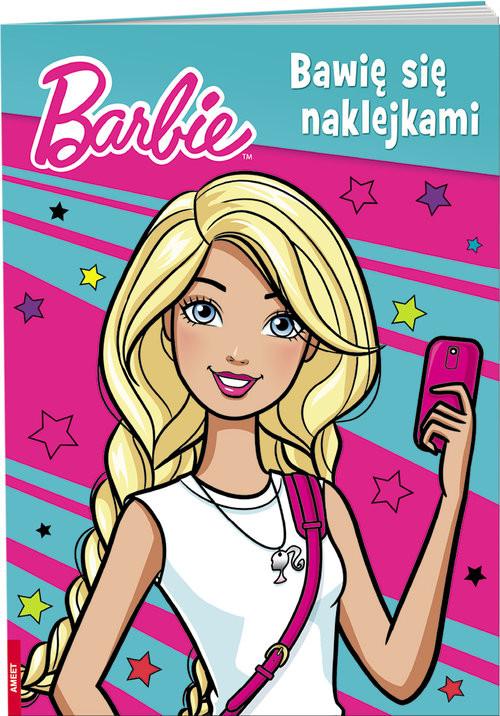 okładka Barbie Bawię się naklejkami NAKB-4, Książka |