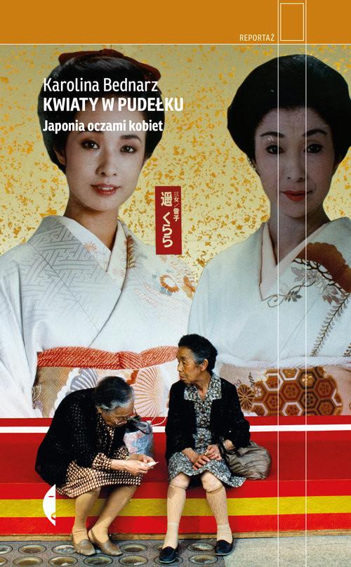 okładka Kwiaty w pudełku Japonia oczami kobiet, Książka | Bednarz Karolina