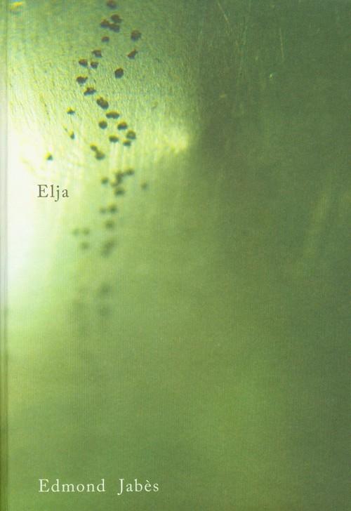 okładka Elja, Książka | Jabes Edmond