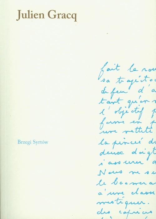 okładka Brzegi Syrtów, Książka   Gracq Julien