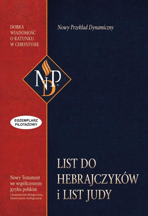 okładka List do Hebrajczyków i List Judy, Książka  