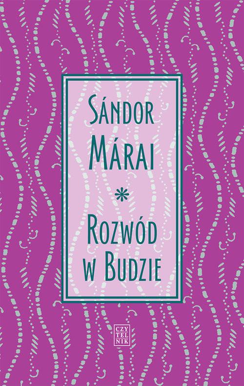 okładka Rozwód w Budzie, Książka | Márai Sándor