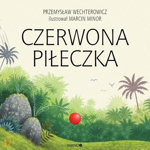 okładka Czerwona piłeczka, Książka   Przemysław Wechterowicz, Marcin Minor