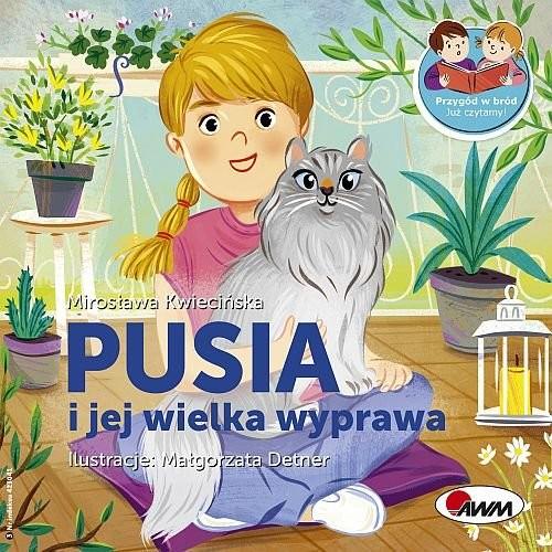 okładka Pusia i jej wielka wyprawaksiążka |  | Kwiecińska Mirosława