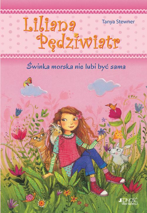 okładka Liliana Pędziwiatr Świnka morska nie lubi być sama Tom 2, Książka   Stewner Tanya