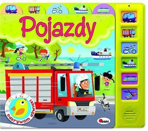 okładka Odkrywam dźwięki Pojazdy, Książka | Kwiecińska Mirosława