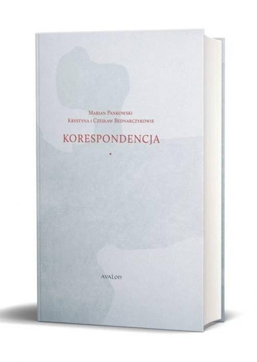 okładka Korespondencja Marian Pankowski Krystyna i Czesław Bednarczykowieksiążka     