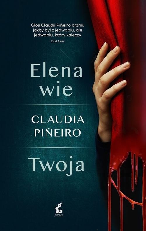 okładka Elena wie, Książka | Claudia Piñeiro