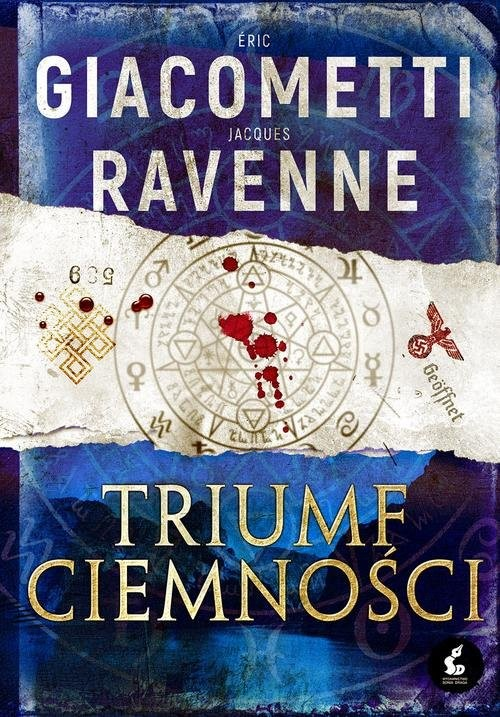 okładka Czarne Słońce 1 Triumf ciemności, Książka | Eric Giacometti, Jacques Ravenne