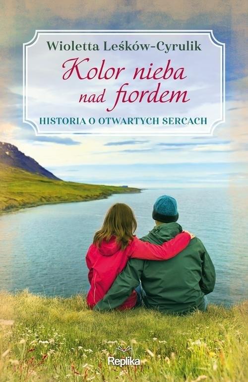okładka Kolor nieba nad fiordem, Książka | Wioletta Leśków-Cyrulik