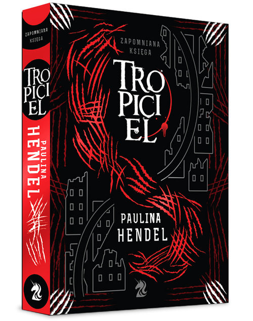 okładka Tropiciel, Książka | Paulina Hendel