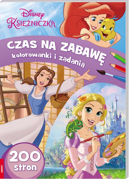 okładka Disney Księżniczka Czas na zabawę. Kolorowanki i zadania /BUMB1 BUMB-1, Książka | Opracowanie zbiorowe