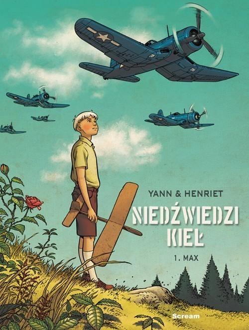 okładka Niedźwiedzi Kieł Tom 1 Max, Książka | Yann Henriet, Praca Zbiorowa