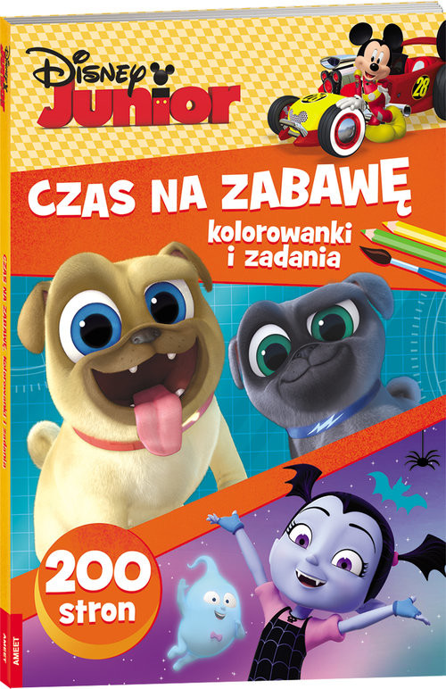 okładka Disney Junior Czas na zabawę BUMB-2, Książka |