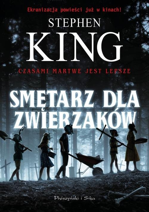 okładka Smętarz dla zwierzaków, Książka   Stephen King