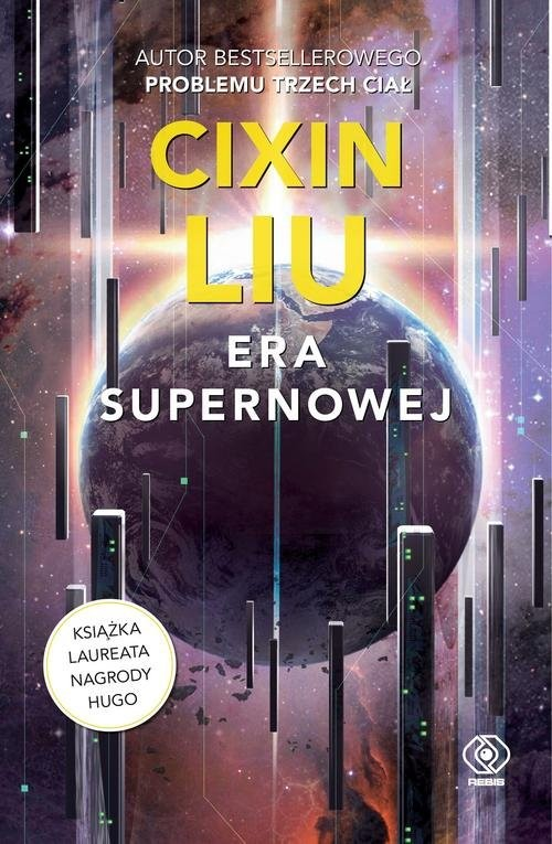 okładka Era supernowej, Książka | Liu Cixin