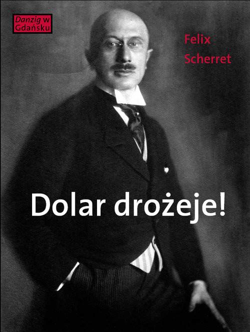 okładka Dolar drożeje! Powieść inflacyjna z pewnego starego miasta, Książka | Scherret Felix