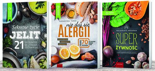 okładka Walka z alergią komplet 3 książek, Książka |