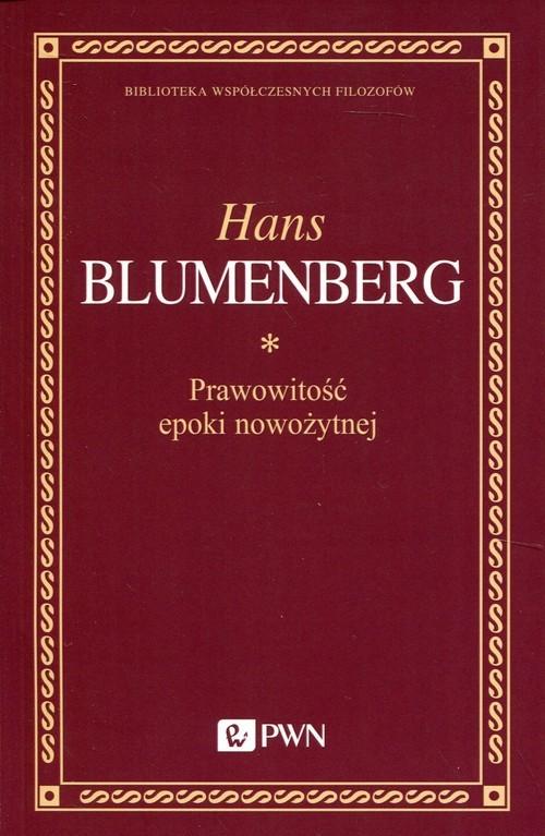 okładka Prawowitość epoki nowożytnej, Książka | Blumenberg Hans