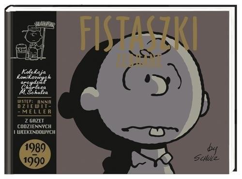 okładka Fistaszki zebrane 1989-1990, Książka | Charles M. Schulz