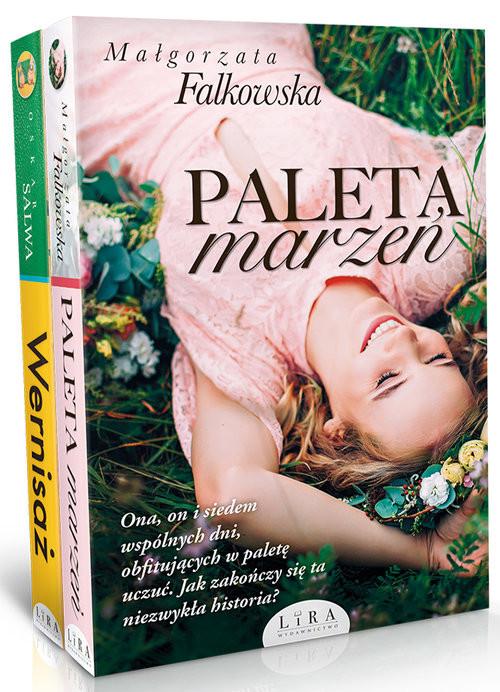 okładka Paleta marzeń Wernisaż Pakiet, Książka | Małgorzata Falkowska, Oskar Salwa