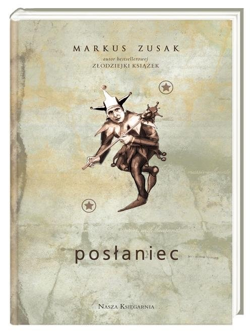 okładka Posłaniec, Książka   Zusak Markus
