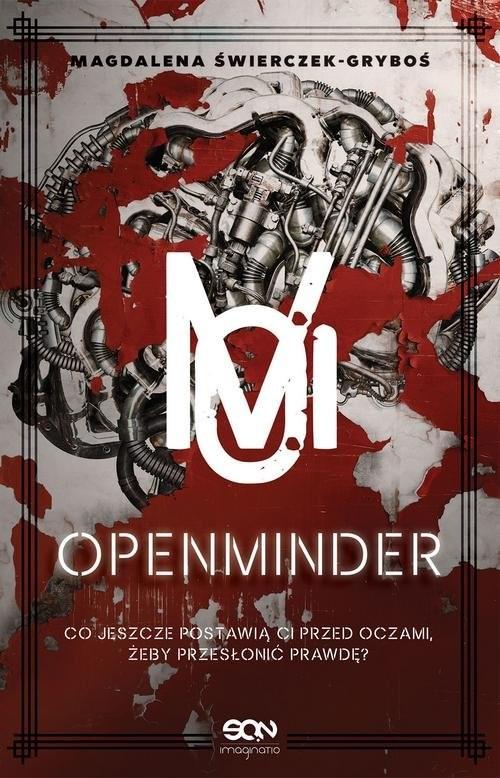 okładka Openminder Tom 1 Koty, Książka | Świerczek-Gryboś Magdalena