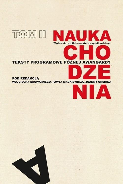 okładka Nauka chodzenia Tom 2. Teksty programowe późnej awangardyksiążka |  |