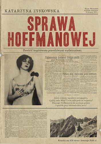 okładka Sprawa Hoffmanowej, Książka | Zyskowska-Ignaciak Katarzyna