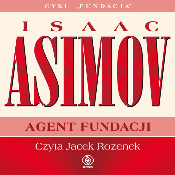 okładka Agent Fundacji, Audiobook   Isaac Asimov