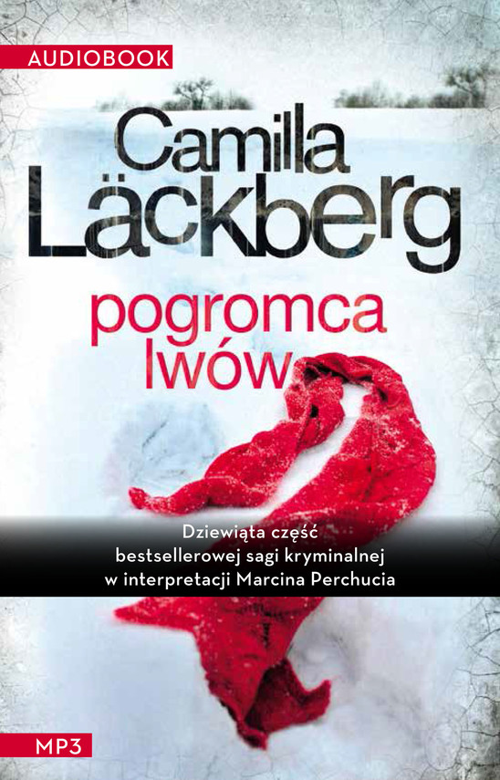 okładka Pogromca lwówaudiobook | MP3 | Camilla Läckberg