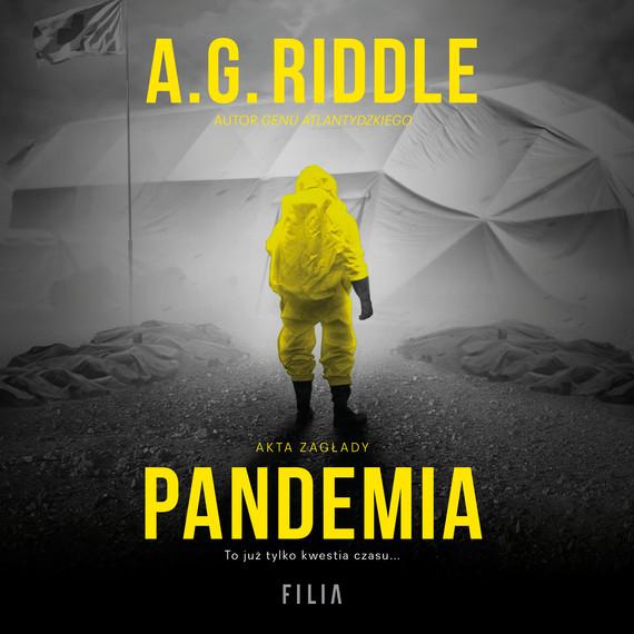 okładka Pandemia, Audiobook | A.G. Riddle