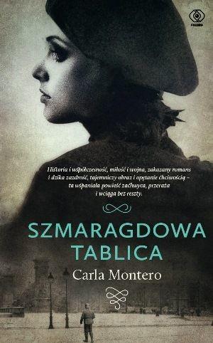 okładka Szmaragdowa tablica, Książka | Montero Carla