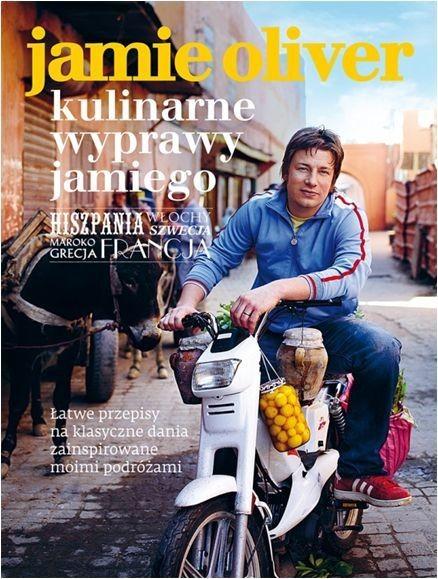 okładka Kulinarne wyprawy Jamiego, Książka | Oliver Jamie